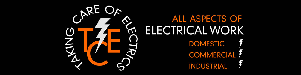 Taking Care of Electrics Logo - Electrician Morecambe & Lancaster